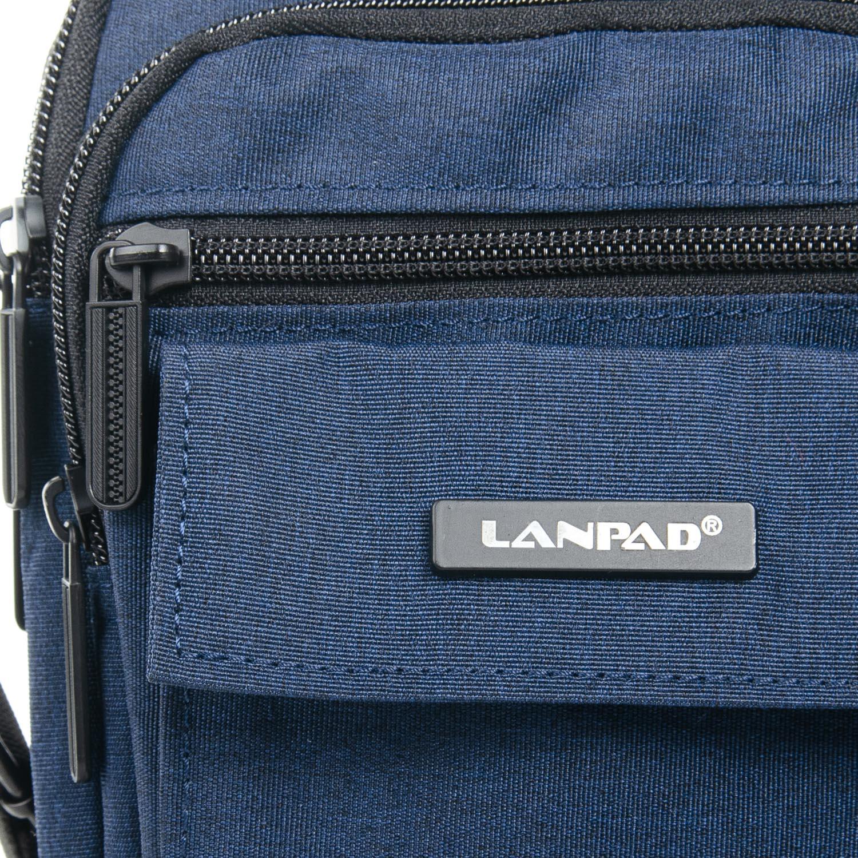 Сумка Мужская Планшет нейлон Lanpad 98772 blue