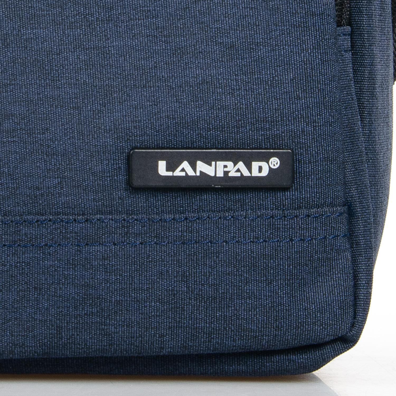 Сумка Мужская Планшет нейлон Lanpad 7632 blue