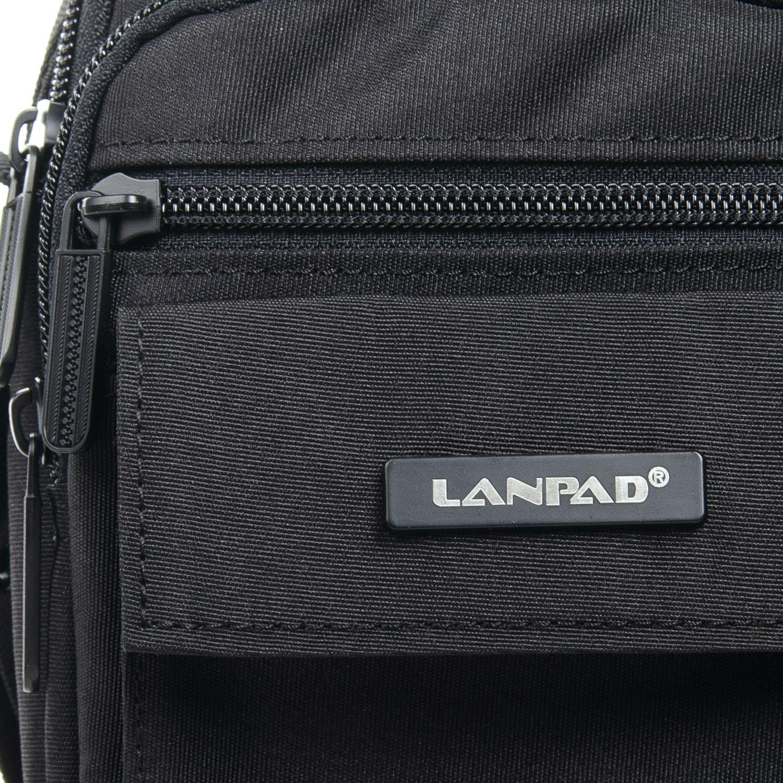 Сумка Мужская Планшет нейлон Lanpad 98772 black