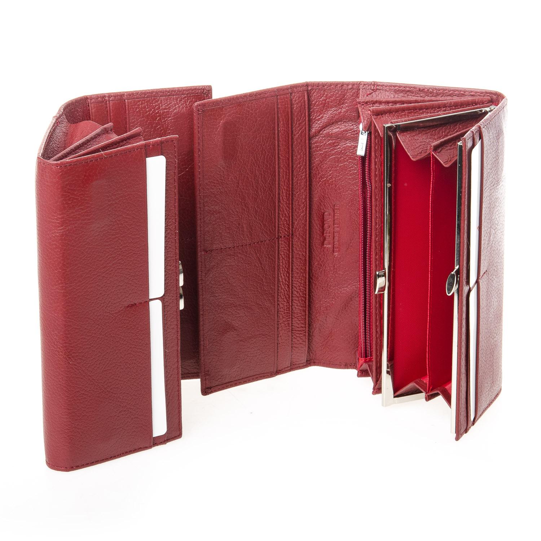 Кошелек Classic кожа DR. BOND W1-V-2 dark-red