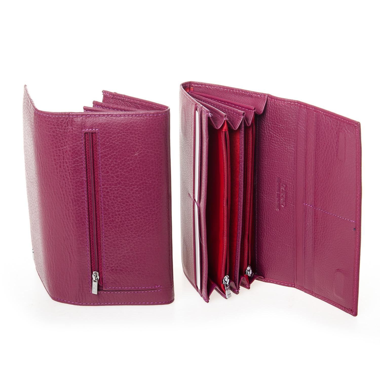 Кошелек Classic кожа DR. BOND W501-2 purple-red