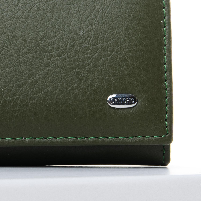 Кошелек Classic кожа DR. BOND W501-2 dark-green