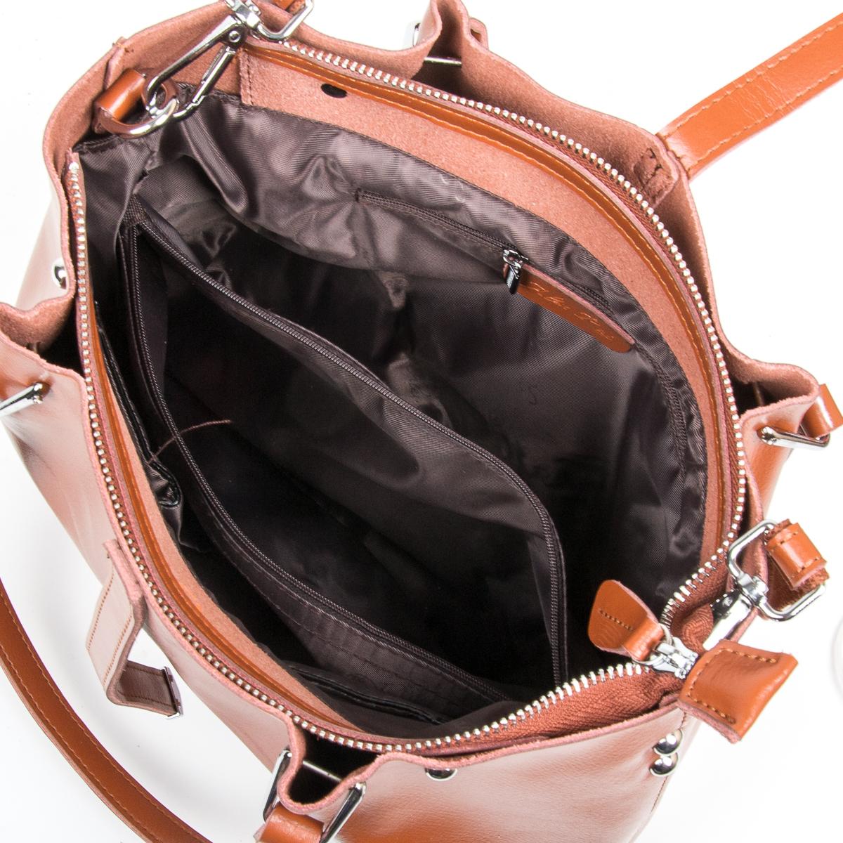 Сумка Женская Классическая кожа ALEX RAI 9-01 317 khaki