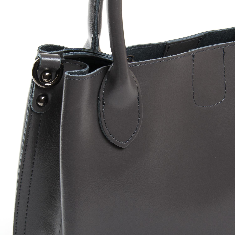 Сумка Женская Классическая кожа ALEX RAI 9-01 8784 grey