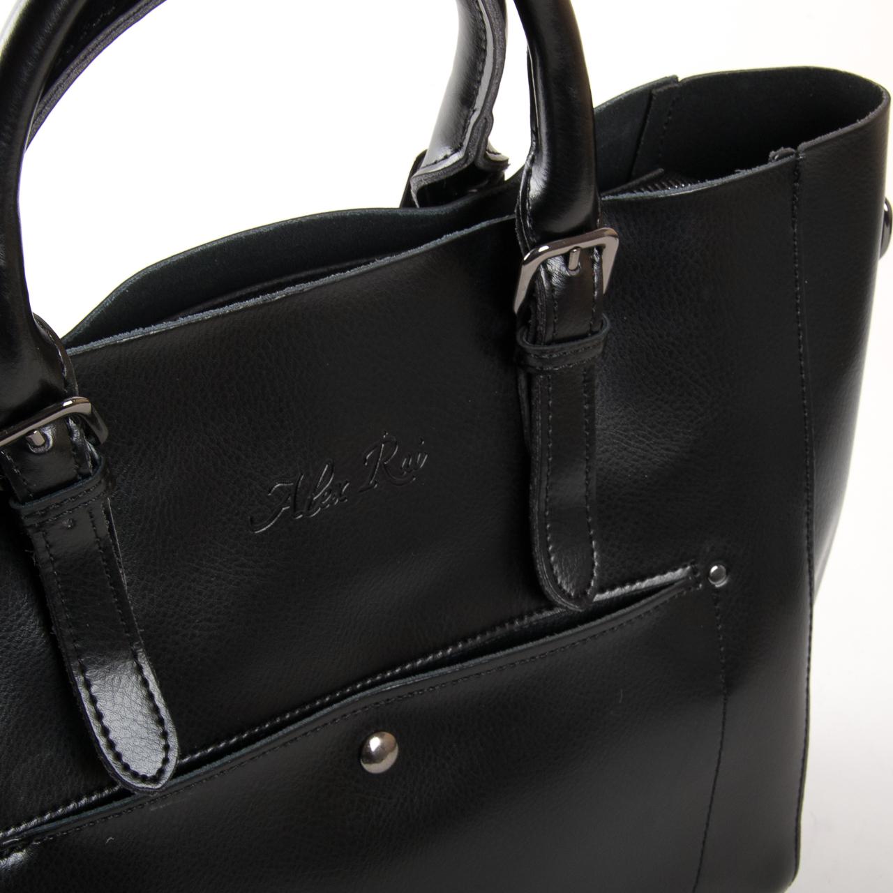 Сумка Женская Классическая кожа ALEX RAI 9-02 8223 black