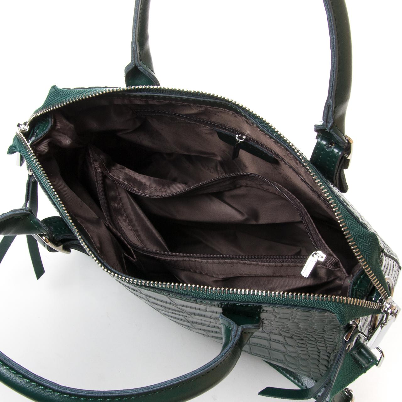 Сумка Женская Классическая кожа ALEX RAI 9-02 1543 green