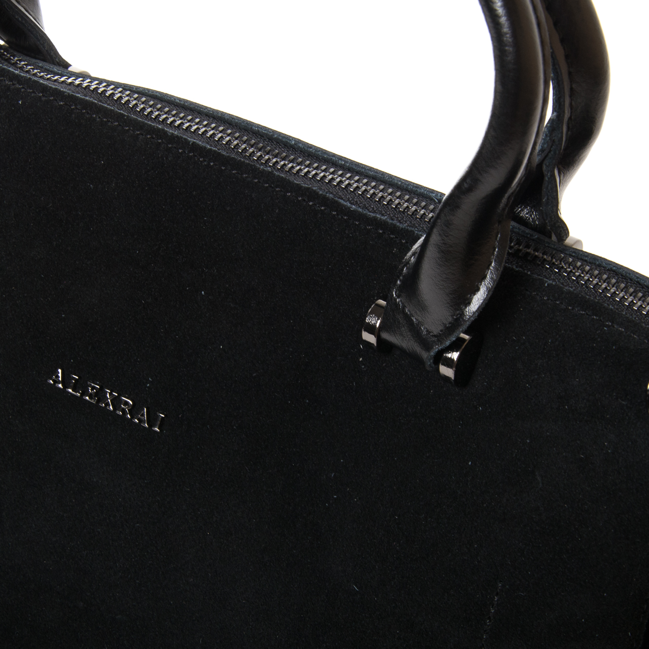 Сумка Женская Классическая замш ALEX RAI 9-03 8542 black