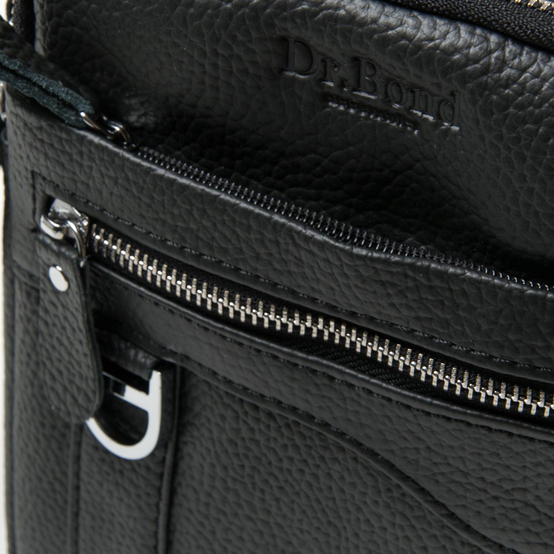 Сумка Мужская Планшет кожа DR. BOND 14341 black