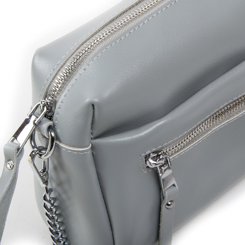 Сумка Женская Классическая кожа ALEX RAI 03-02 1052 grey