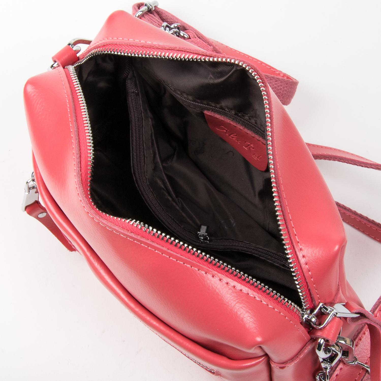 Сумка Женская Классическая кожа ALEX RAI 03-02 1052 scarlet