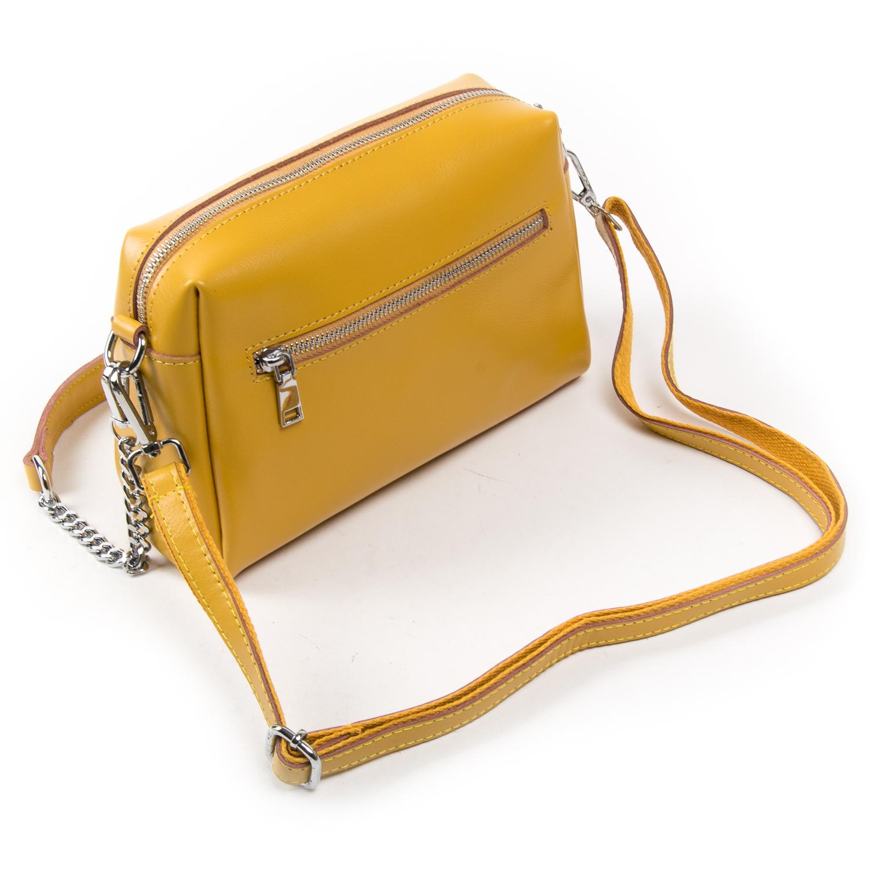 Сумка Женская Классическая кожа ALEX RAI 03-02 1052 yellow