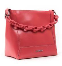Сумка Женская Классическая кожа ALEX RAI 03-02 1897 scarlet Распродажа