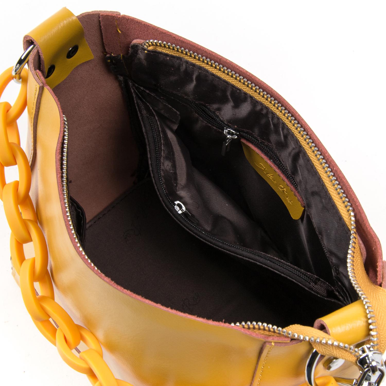 Сумка Женская Классическая кожа ALEX RAI 03-02 1897 yellow