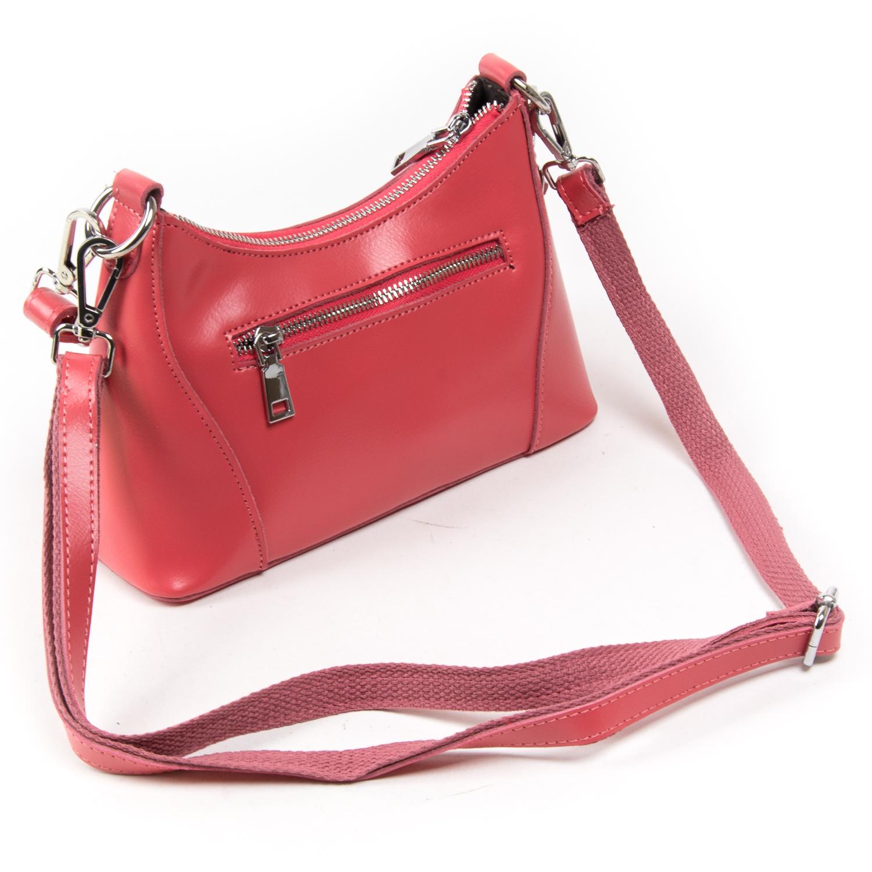 Сумка Женская Классическая кожа ALEX RAI 03-02 2232 scarlet