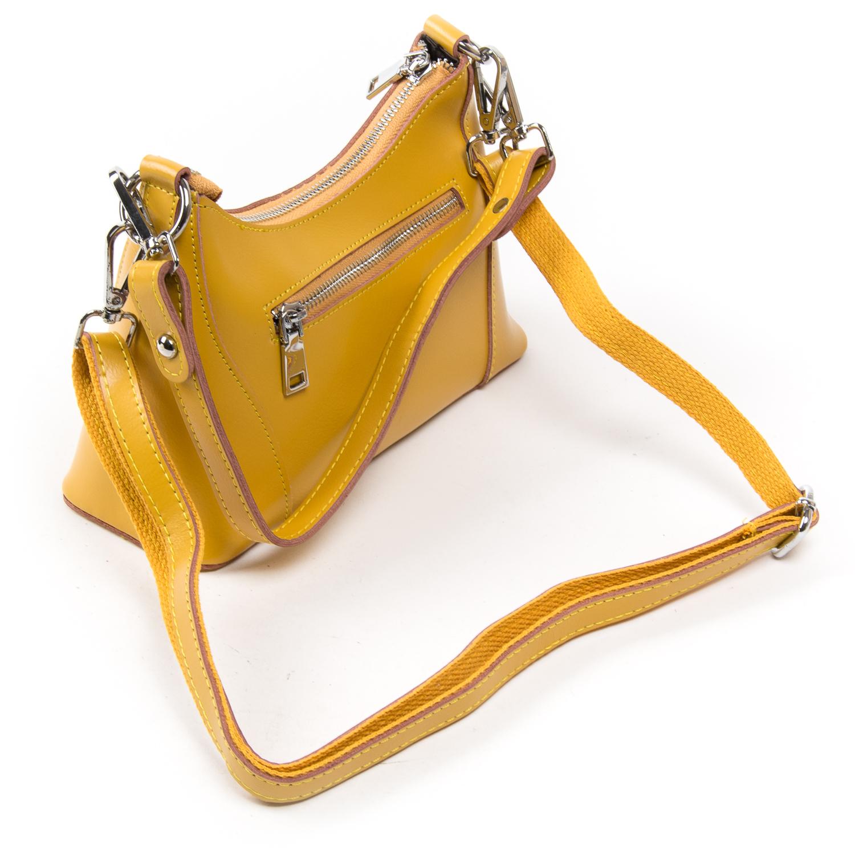 Сумка Женская Классическая кожа ALEX RAI 03-02 2232 yellow