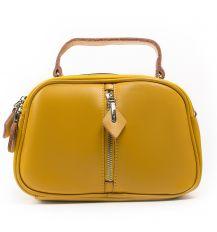 Сумка Женская Классическая кожа ALEX RAI 03-02 8389 yellow Распродажа