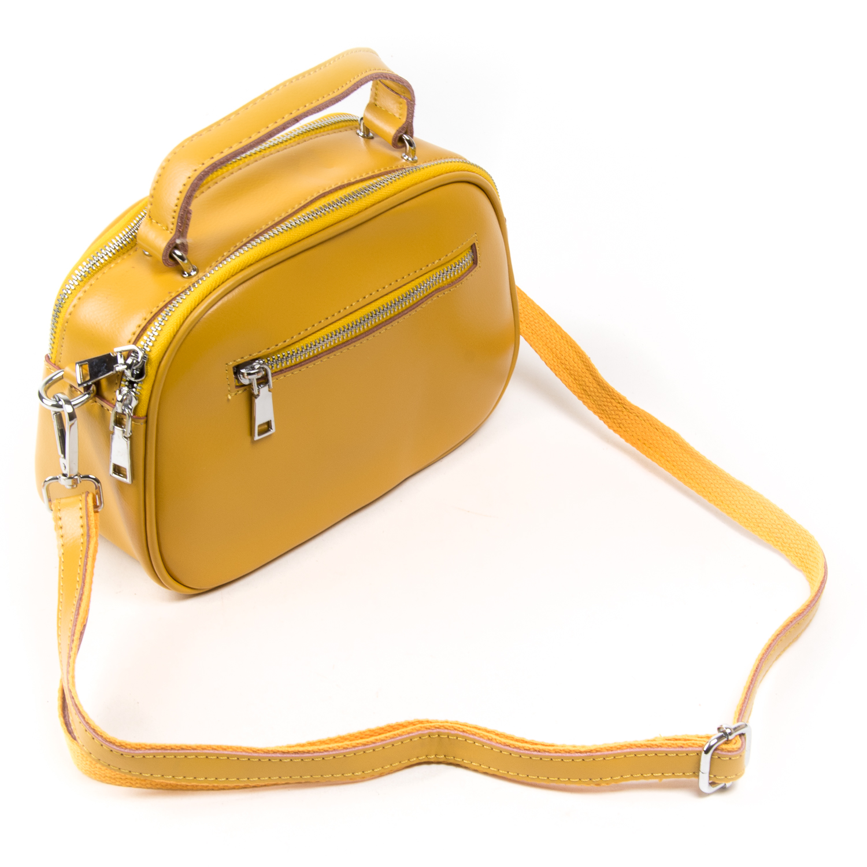 Сумка Женская Классическая кожа ALEX RAI 03-02 8389 yellow