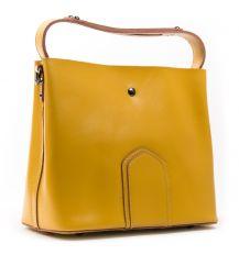 Сумка Женская Классическая кожа ALEX RAI 03-02 8641 yellow Распродажа