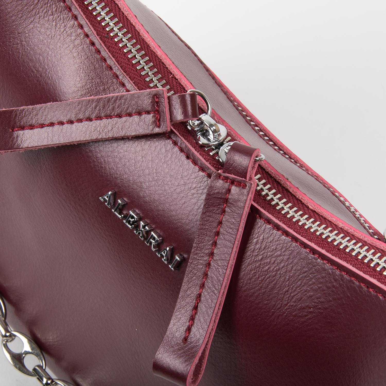 Сумка Женская Классическая кожа ALEX RAI 03-02 8691 l-red