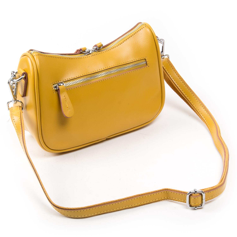 Сумка Женская Классическая кожа ALEX RAI 03-02 8691 yellow
