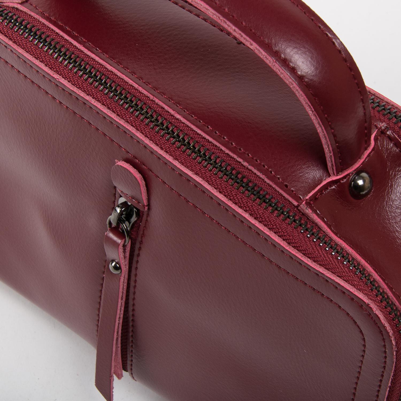 Сумка Женская Классическая кожа ALEX RAI 03-02 9119 l-red