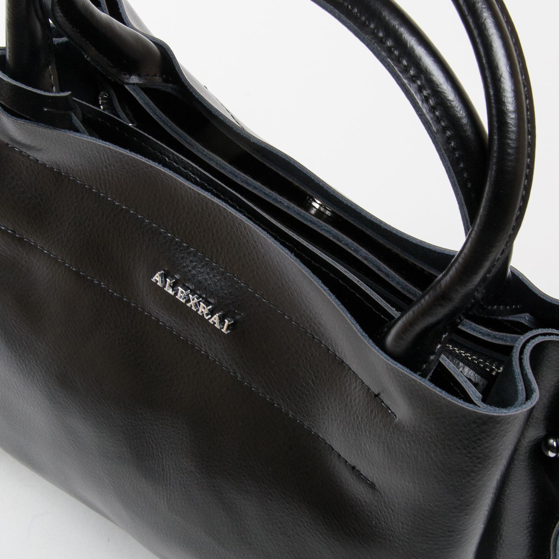 Сумка Женская Классическая кожа ALEX RAI 05-01 8550-1 black