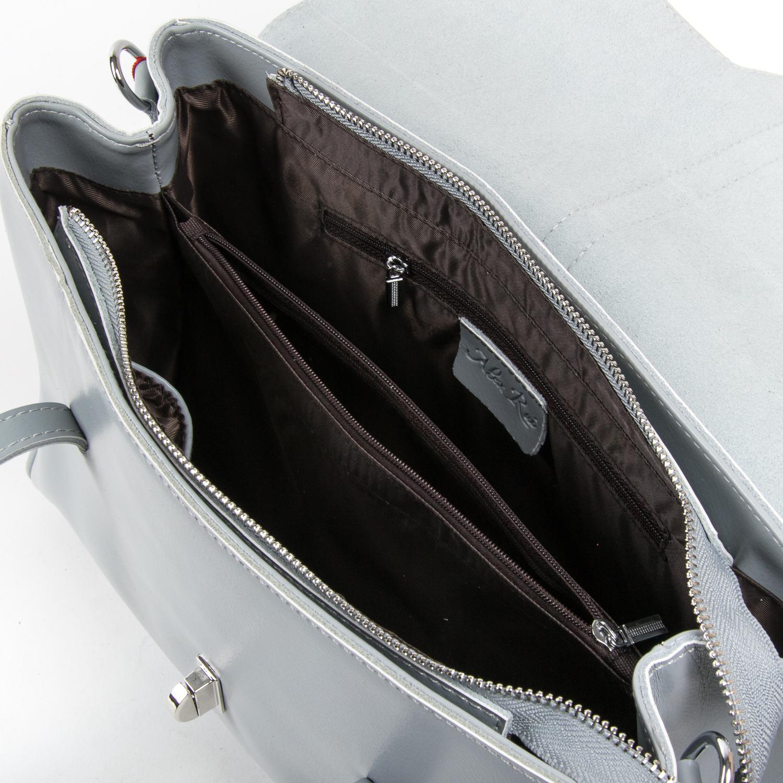 Сумка Женская Классическая кожа ALEX RAI 05-01 8796 light-grey