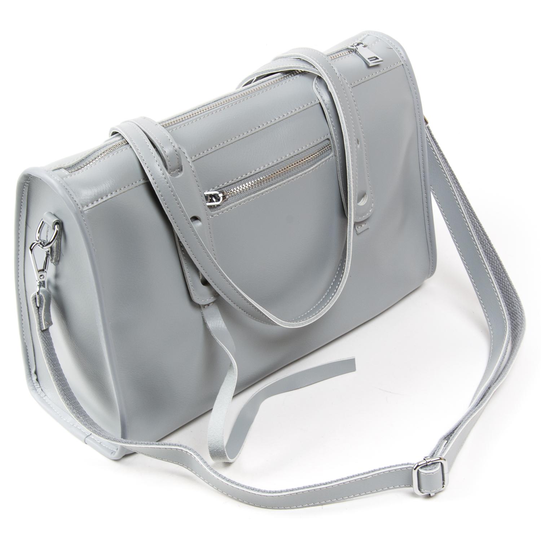 Сумка Женская Классическая кожа ALEX RAI 05-01 8797 light-grey