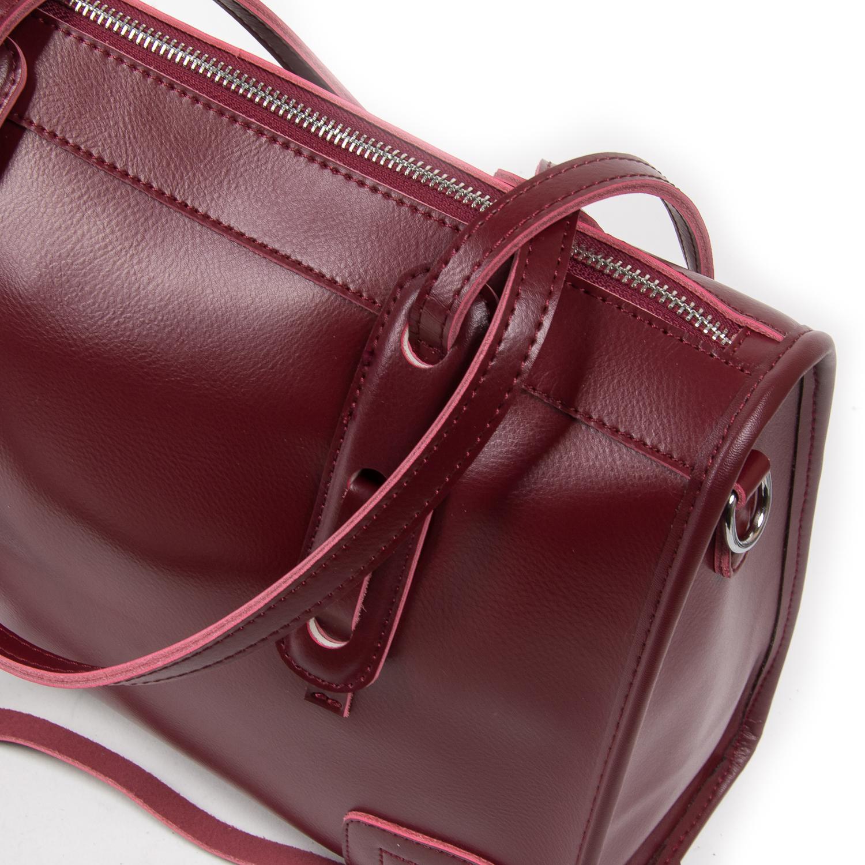 Сумка Женская Классическая кожа ALEX RAI 05-01 8797 light-red