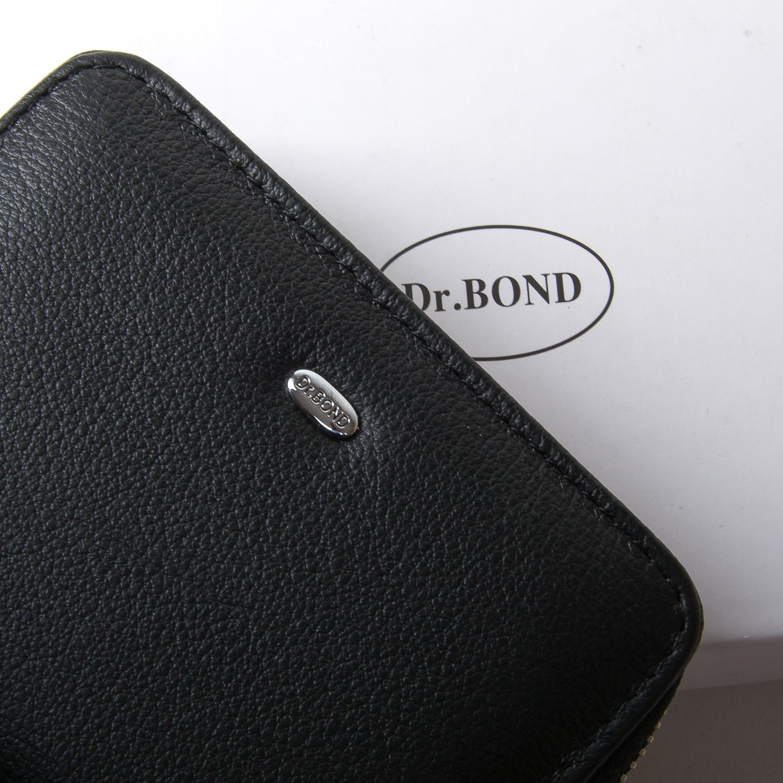 Кошелек Classic кожа DR. BOND WN-4 black