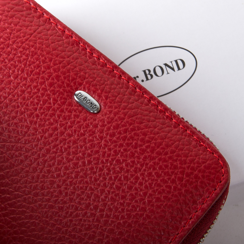Кошелек Classic кожа DR. BOND WN-4 red