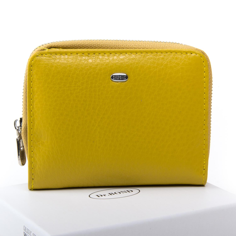 Кошелек Classic кожа DR. BOND WN-4 yellow