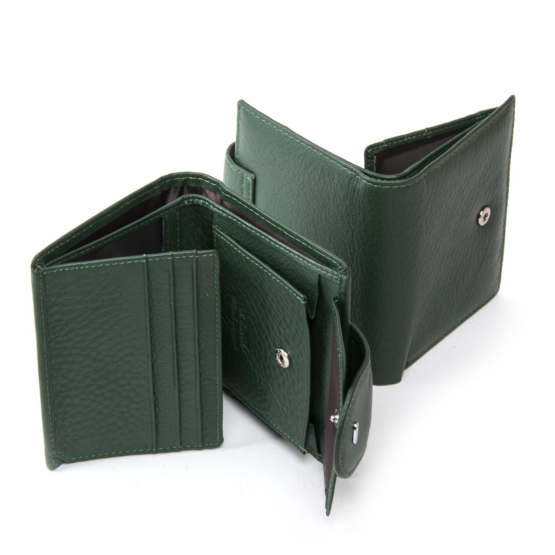 Кошелек Classic кожа DR. BOND WN-6 green