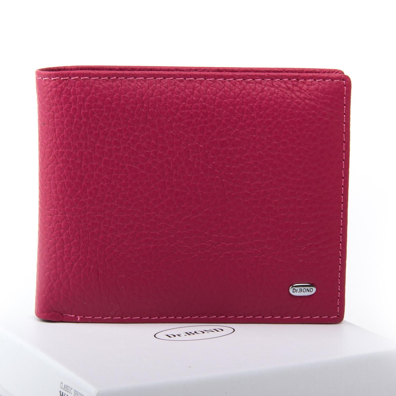 Кошелек Classic кожа DR. BOND WN-7 pink-red