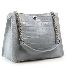 Сумка Женская Классическая кожа ALEX RAI 07-01 3202 l-grey