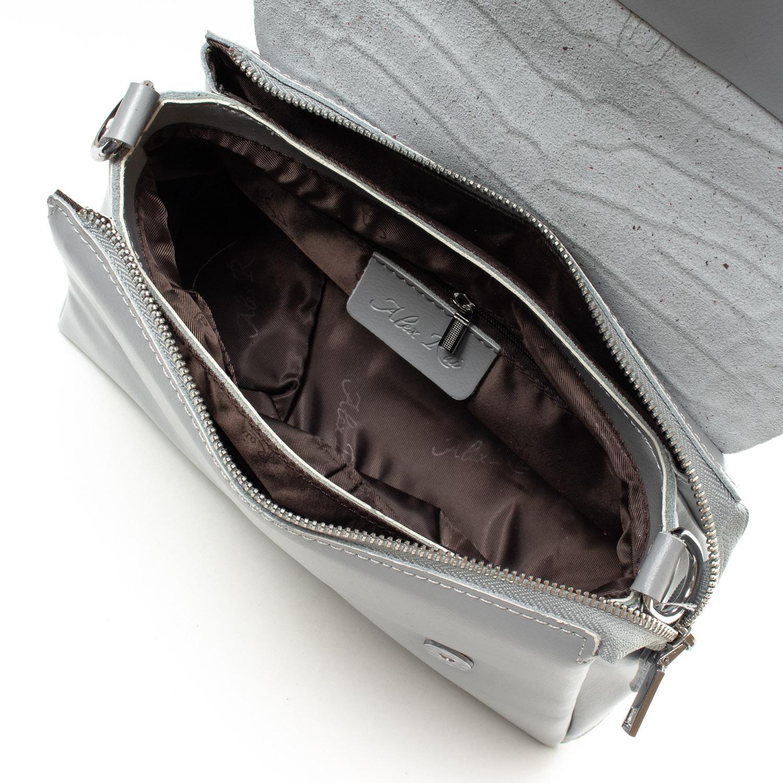 Сумка Женская Классическая кожа ALEX RAI 07-01 8778 l-grey