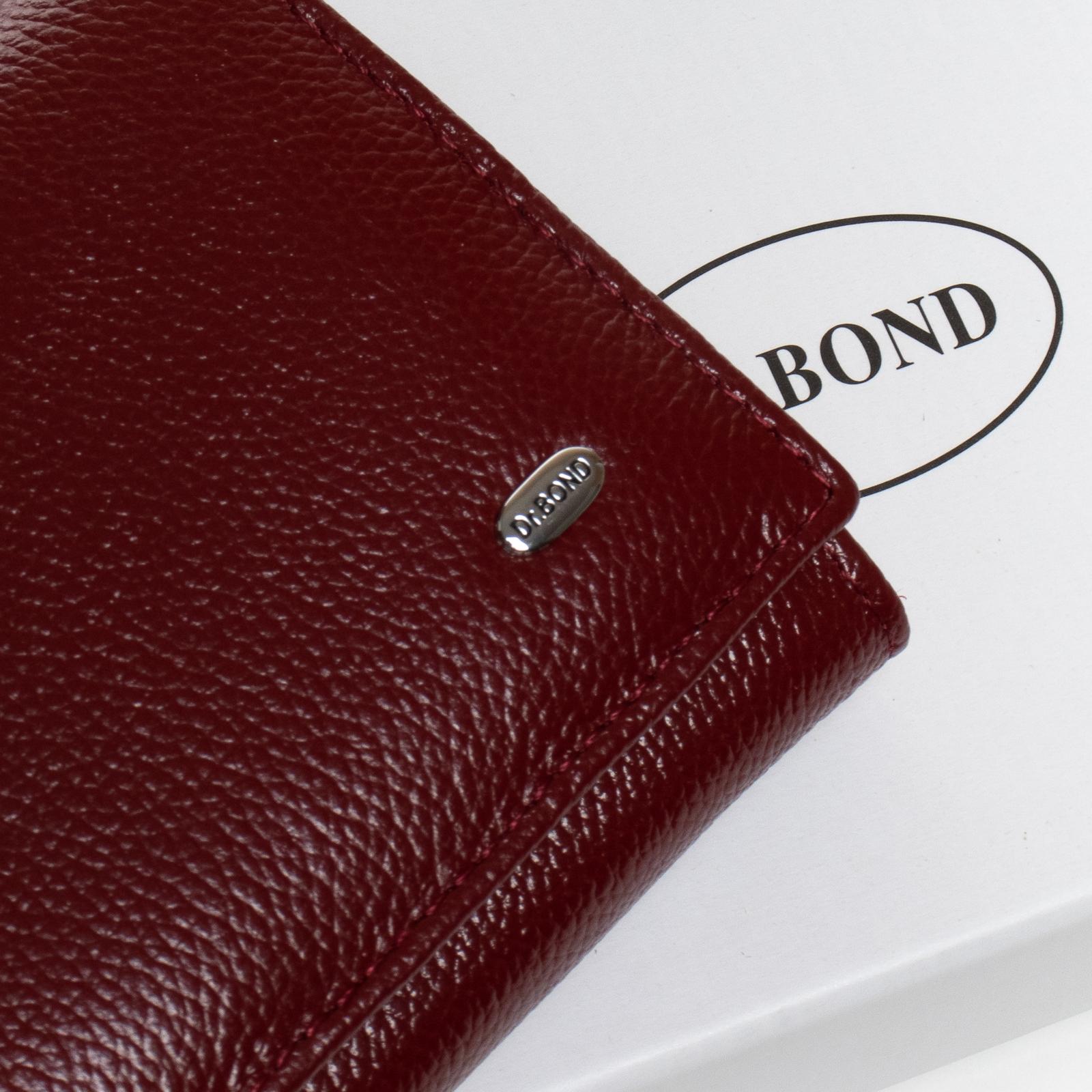 Кошелек Classic кожа DR. BOND W501-2 bordo