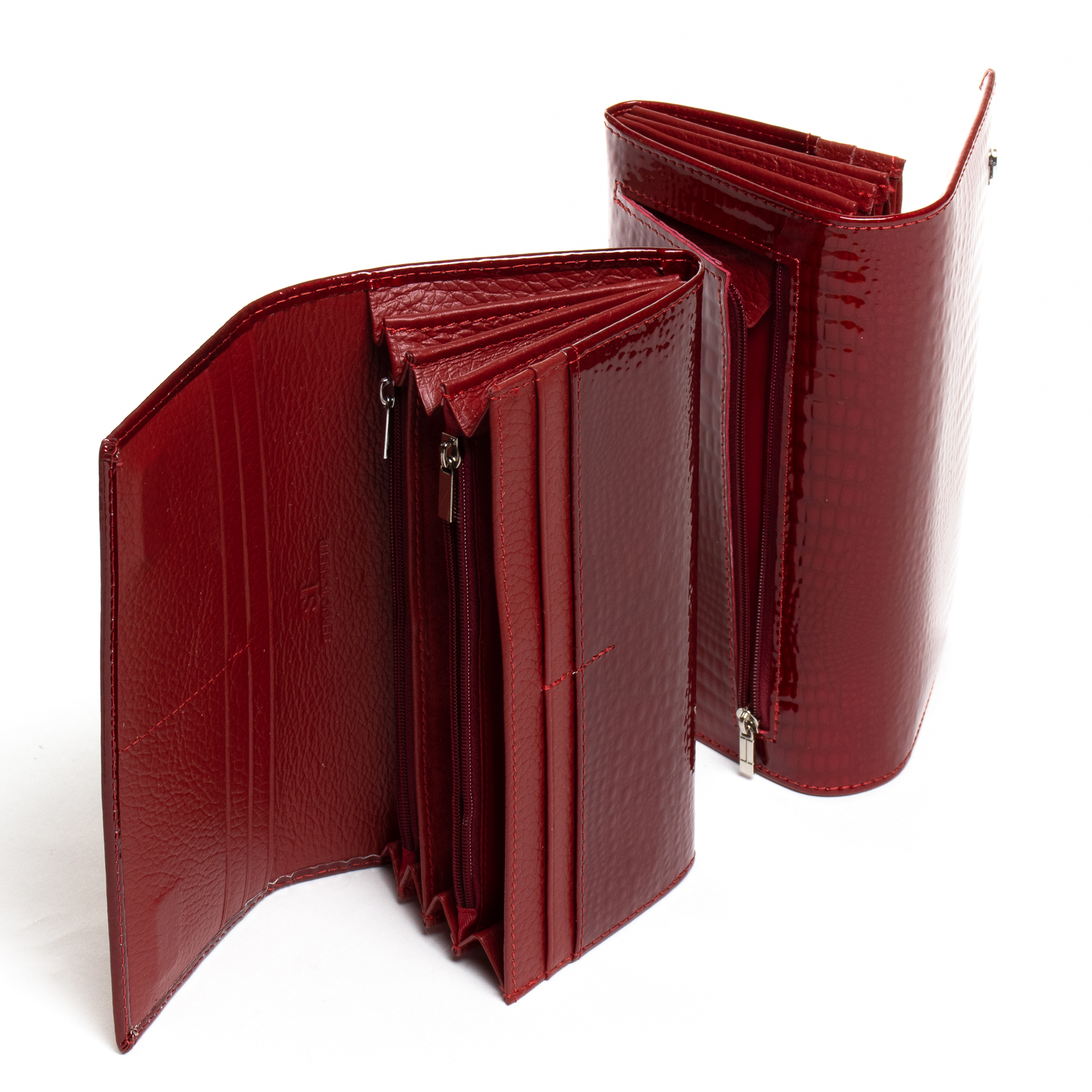 Кошелек LR кожа-лак SERGIO TORRETTI W501-2 red