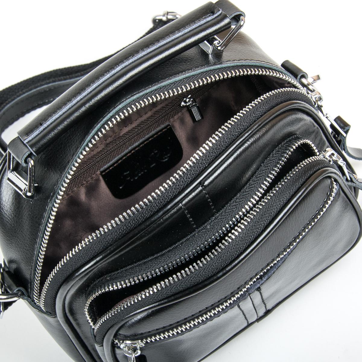 Сумка Женская Классическая кожа ALEX RAI 05-01 8802 black
