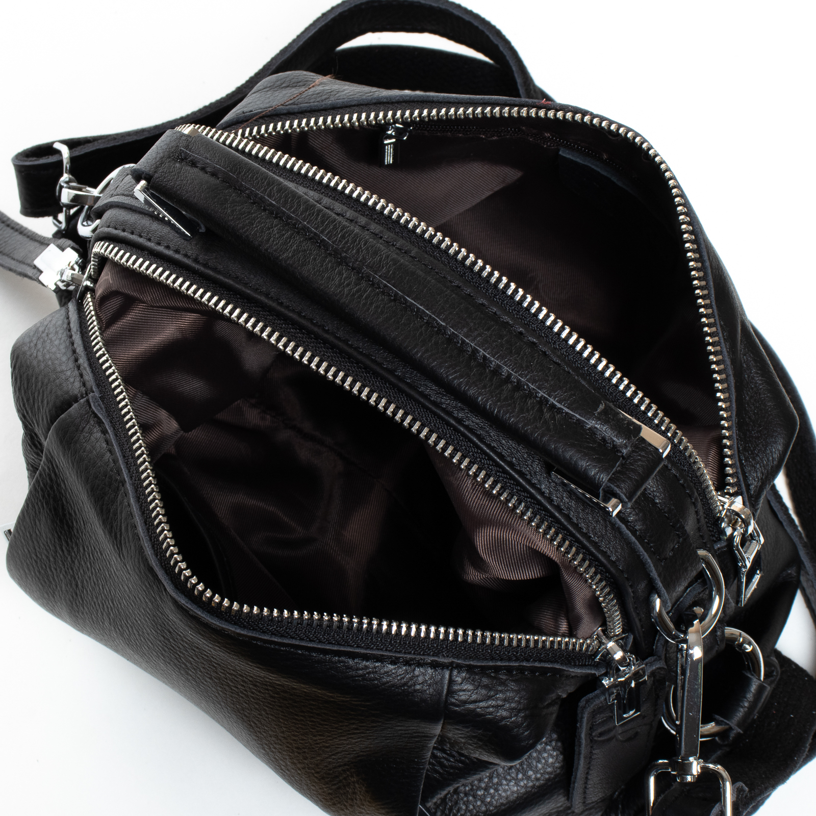 Сумка Женская Классическая кожа ALEX RAI 07-03 8762-9 black