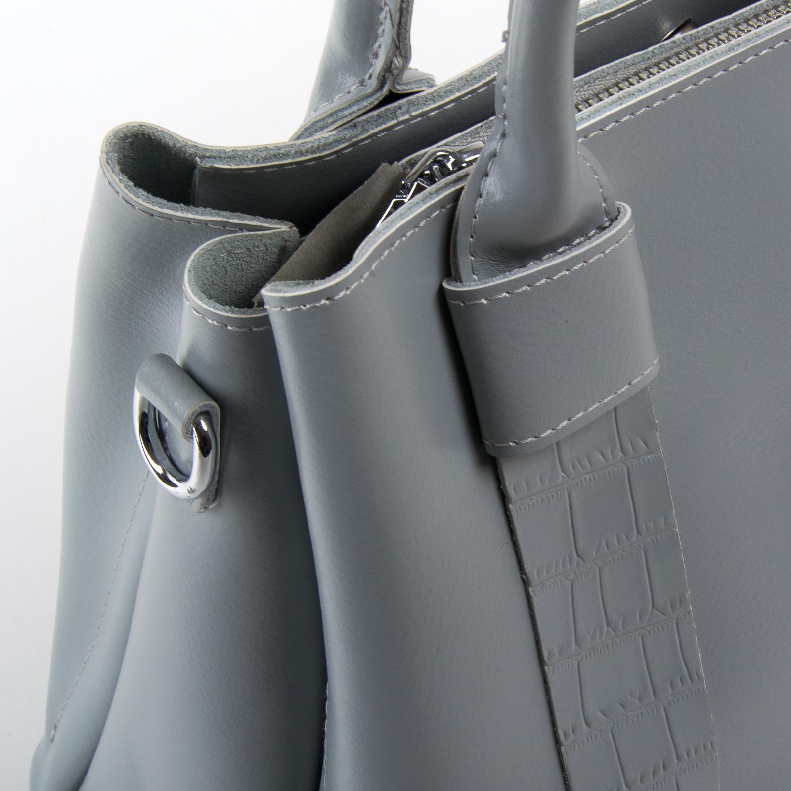 Сумка Женская Классическая кожа ALEX RAI 07-02 2235 l-grey