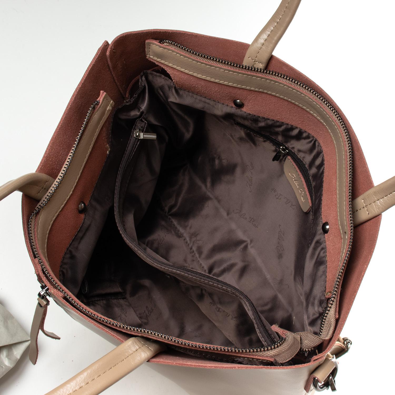 Сумка Женская Классическая кожа ALEX RAI 07-02 8704-220 khaki