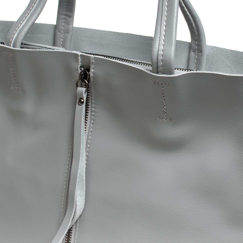 Сумка Женская Классическая кожа ALEX RAI 07-02 8704-220 l-grey