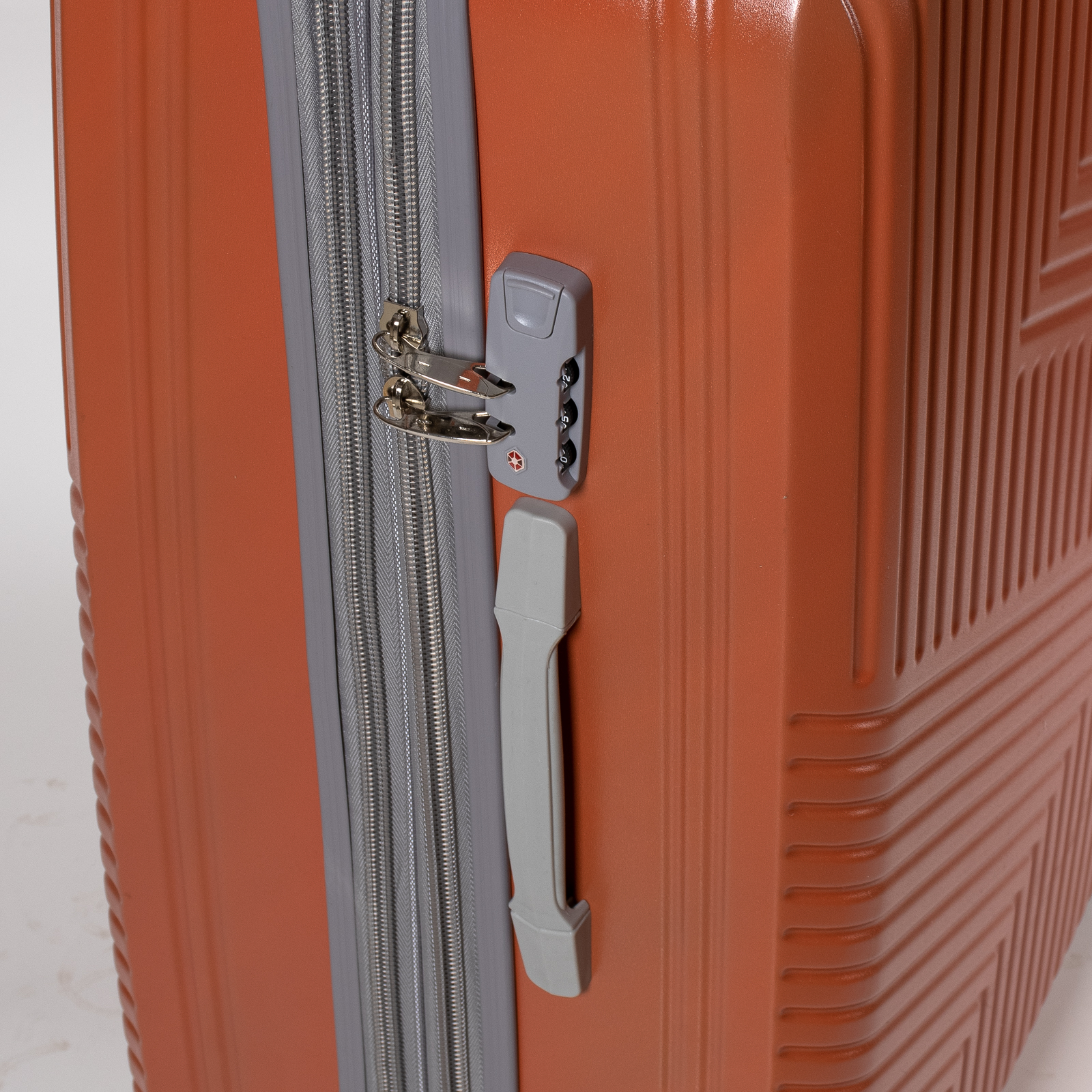 Дорожная Чемодан 31 ABS-пластик 802 orange