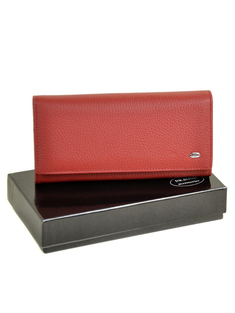 Кошелек Classic кожа DR. BOND W501 red