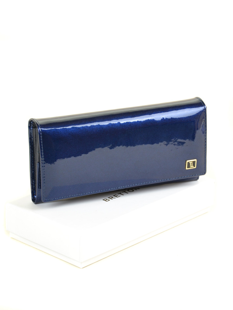 Кошелек Gold кожа BRETTON W0807 dark-blue