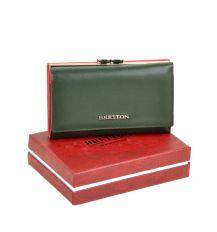 Кошелек Color женский кожаный BRETTON W5520 green Распродажа