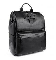 Рюкзак Городской кожаный BRETTON BP 2004-7 black