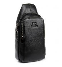 Рюкзак Городской кожаный BRETTON BP 2002-3 black