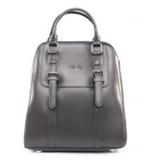 Сумка Женская Рюкзак кожа ALEX RAI 09-3 8778 grey